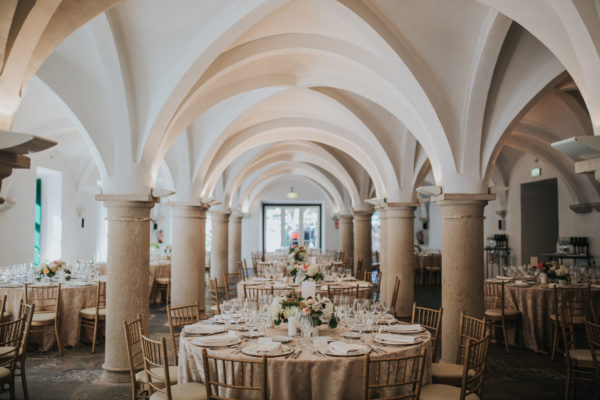 Wedding Reception Flower Decorations at Penha Longa Resort