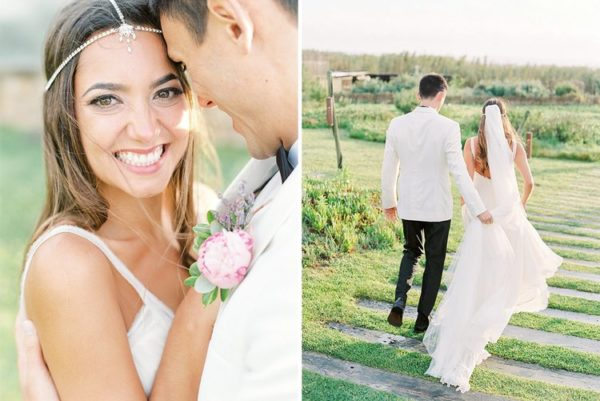Boho Wedding in Portugal Flowers
