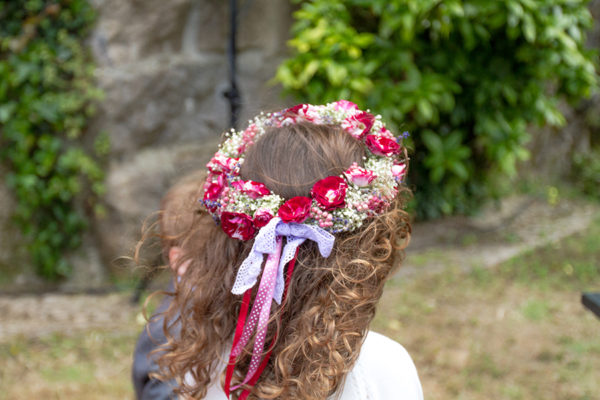 flower girl's headpiece