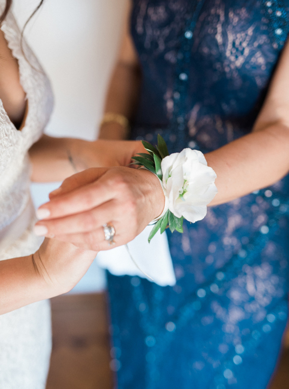 Beautiful Mother of the bride corsage