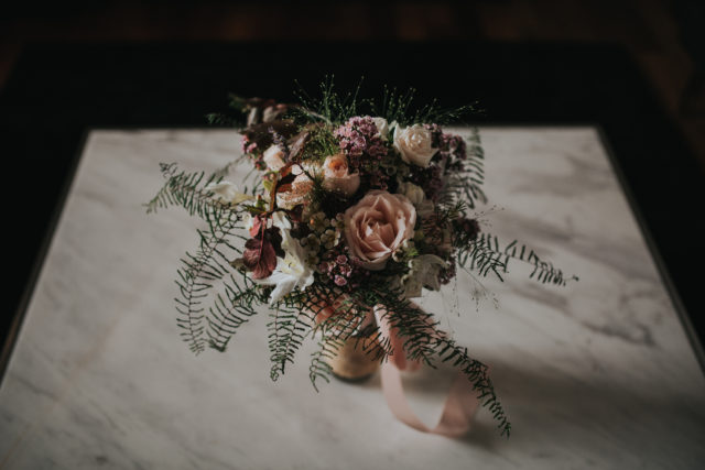 Hipster Chic Wedding Floral Decoration