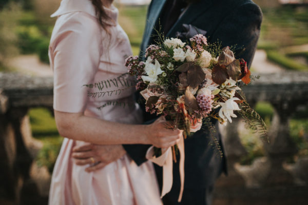 Hipster Chic Wedding Bouquet