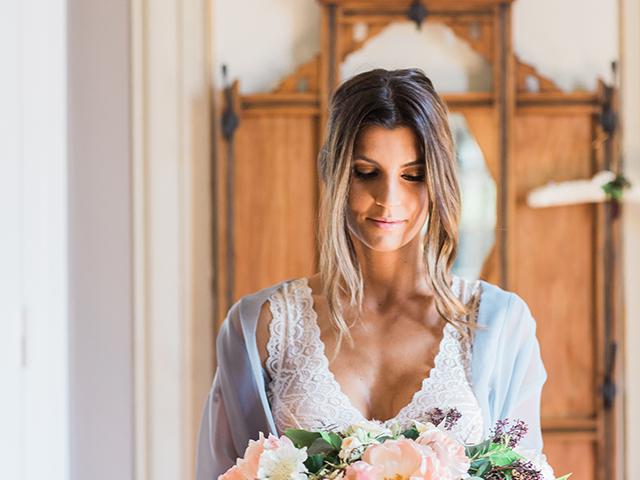 Bridal peonies